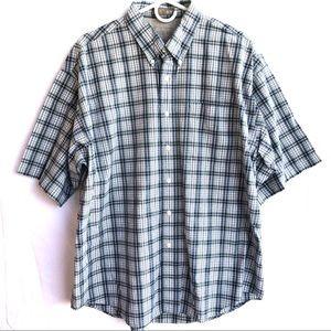 Hagger Men's plaids Shirt Size M